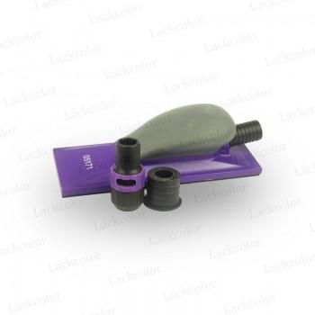 3M 05171 Hookit Purple Premium Handfeile mit Absaugung Klotz