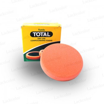 Farecla Total Dry Use Polierschwamm Polierpad Klett 150mm Orange TOT-CF