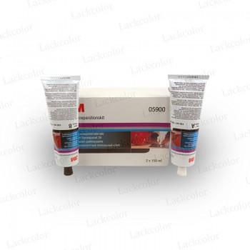 3M 05900 Kunststoff-Reparaturmaterial Kunststoffkleber 2 x 150ml