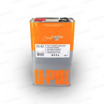 U-Pol S2042 Acrylverdünner Verdünnung kurz 5 Liter