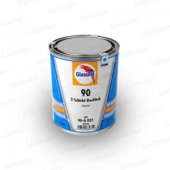 Glasurit 90-A031 Weiß Wassermischlack Reihe 90 1Liter