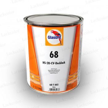 Glasurit 68-T002 Weiss HS 2K CV Decklack 3,5 Liter