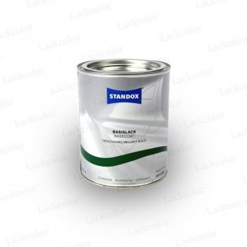 Standox Tiefschwarz Mischlack 1 Liter