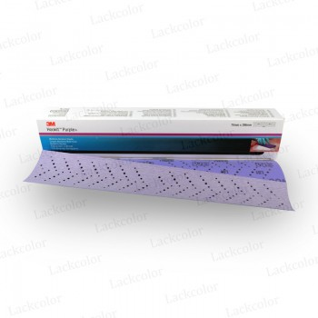 3M 734U/334U Hookit Purple Premium Schleifstreifen P40 - 25 Stück