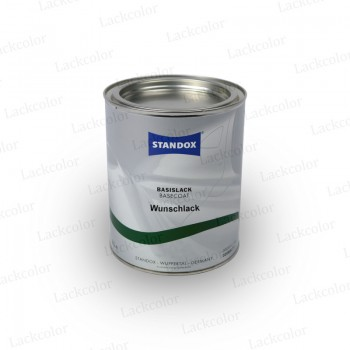 Standox Wunschlack Basislack Konventionell Uni/Metallic 1 Liter