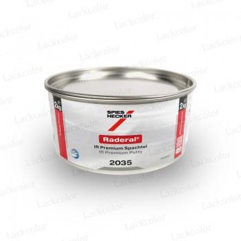 Spies Hecker 2035 Spachtel Raderal IR Premium - 2kg inkl. Raderal Härter