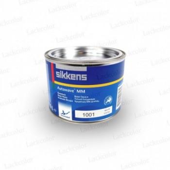 Sikkens Autowave 1001 Schwarz  Wassermischlack 0,5 Liter